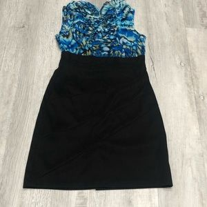💕 3/$27 - Pencil Dress with Ruffle Top